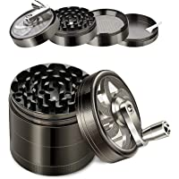 4-Piece Adoric Spice Herb Grinder with Handle