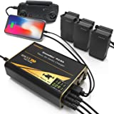 Energen DroneMax MA18A Drone Battery Charger, DJI Mavic Air Accessories, Intelligent Fast Multi Battery Charging Hub Station