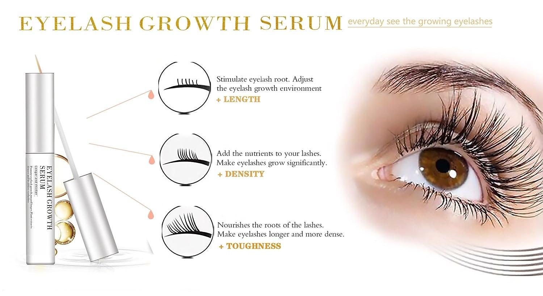 Amazon Eyelash Enhancers Nourishing Serum Makeup Lash Rapid