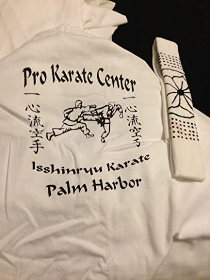 Century White Martial Arts Karate Uniform with Belt Medium Weight Elastic  Waistband & Drawstring for Adult & Children Size 000-7