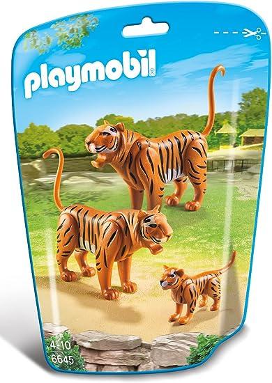 personaggi snodabili giocattoli famiglia allo zoo