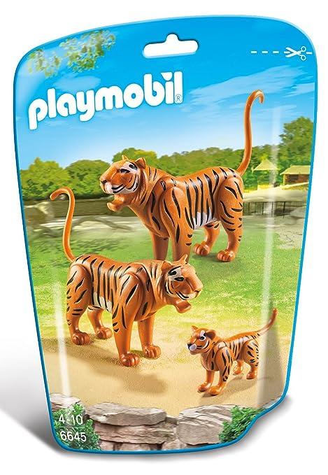 56 opinioni per Playmobil 6645- Famiglia di Tigri, 3 Pezzi