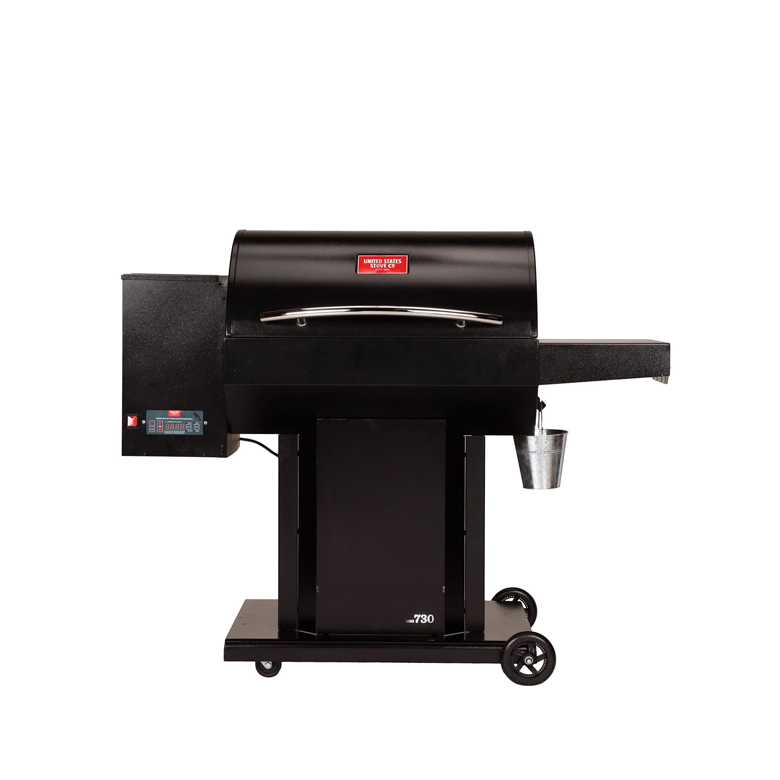US Stove USSC Grills Cumberland USG730 Pellet Grill, Black