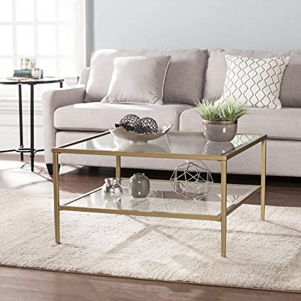 Amazoncom Modern Coffee Table Elegant Cocktail Table