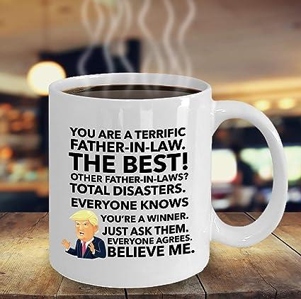 Amazon Trump Mug For Father In Law Funny Men