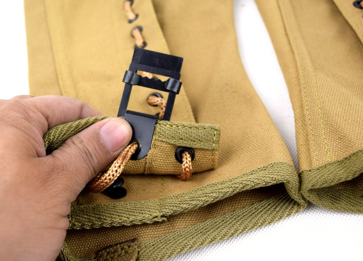 Replica WWII US Canvas Pants Gaiter Leggings Puttee by Chengxiang (Image #6)