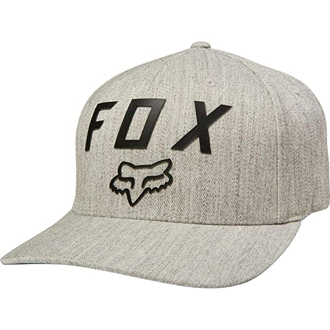 Fox Gorras Number 2 Light Heather Grey Black Flexfit  Amazon.es  Ropa y  accesorios b23bab9bbde