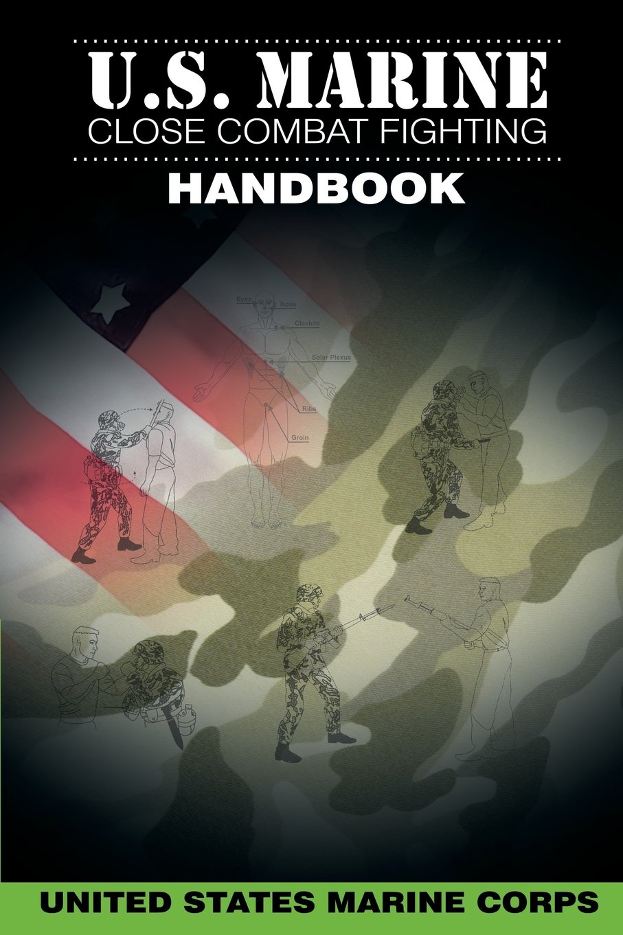 Us Marine Close Combat Fighting Handbook United States Marine