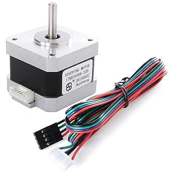 nema 17 2 phase 4 wire stepper motor 1 8 degree for 3d printer 42 x nema 17 2 phase 4 wire stepper motor 1 8 degree for 3d printer 42