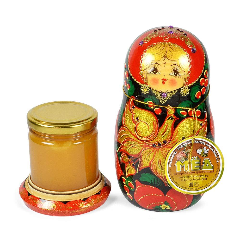 Handmade Traditional''Matryoshka'' with Natural Flower Honey, 10.14 oz / 300 oz by Handmade (Image #2)