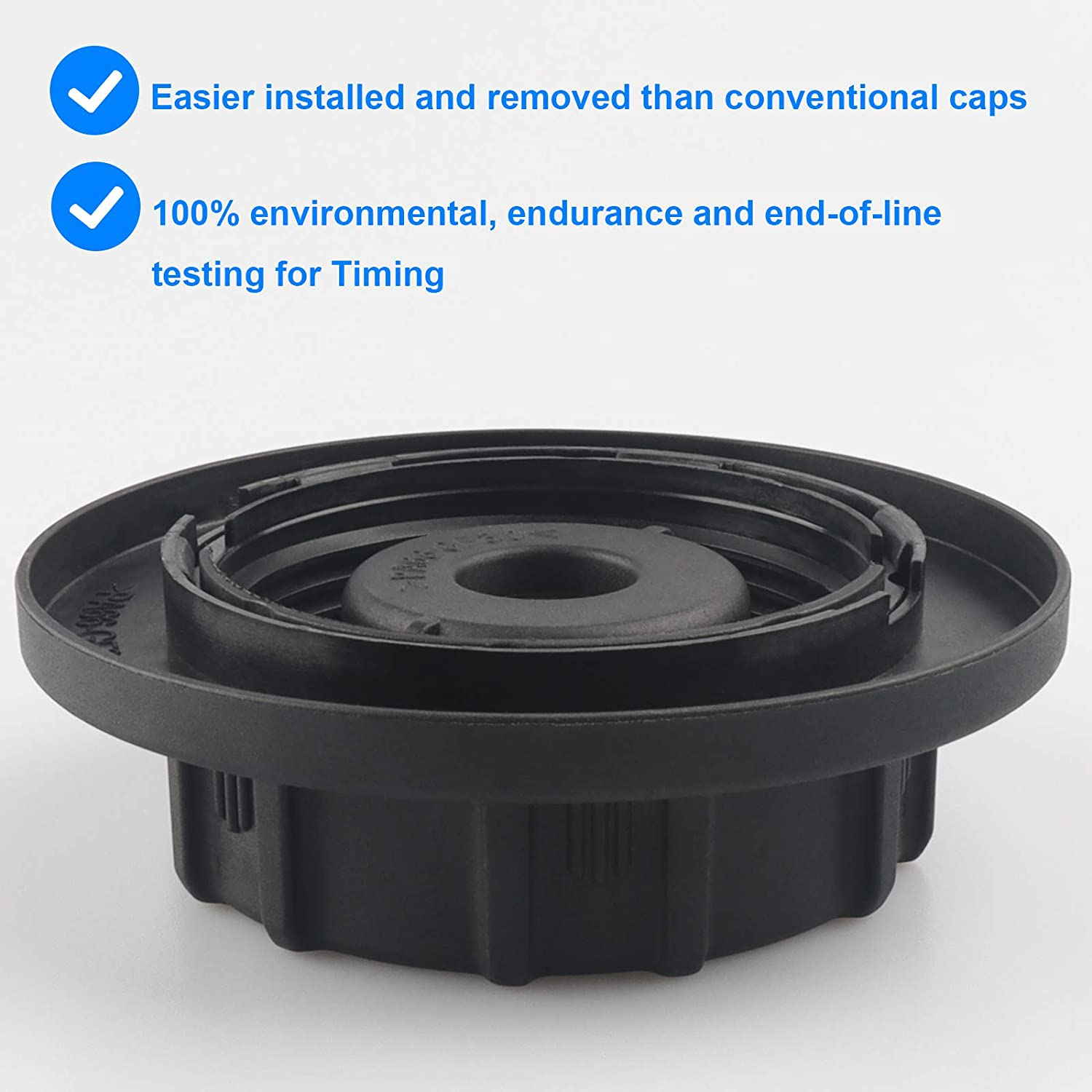 9C3Z8101B Compatible with Ford 6.0 7.3 Powerstroke Coolant Reservoir Cap Replace RS-527 9C3Z-8101-B RS527 Lincoln Mercury Radiator Pressure Cap Explorer F150 F250 F350 Mustang Taurus More