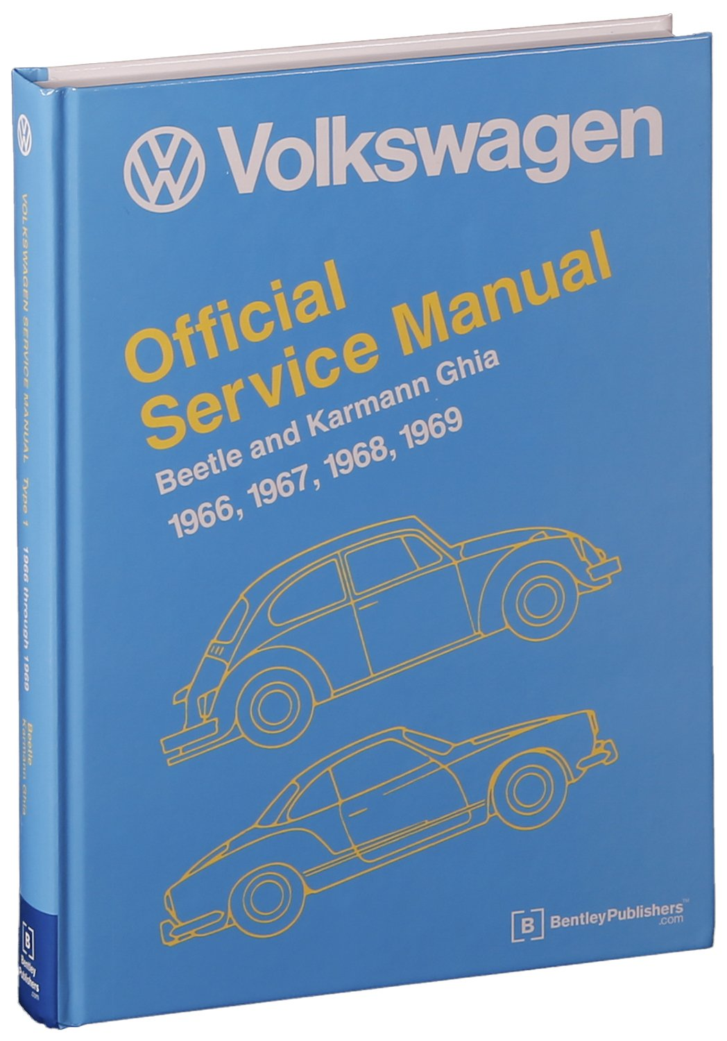 Volkswagen Beetle and Karmann Ghia Official Service Manual Type 1 ...