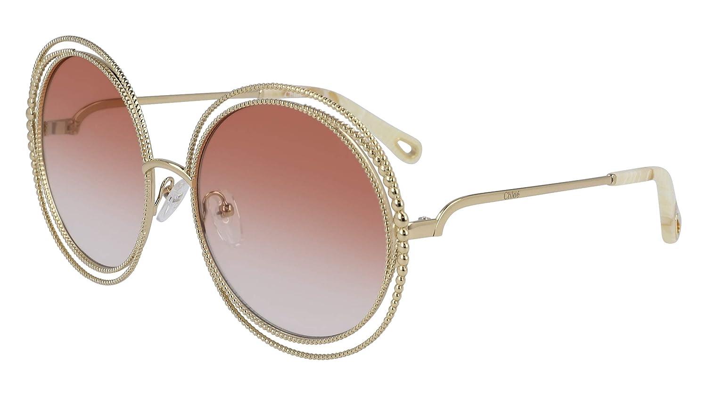 5168eea3 Amazon.com: Chloe CE114SC 724 Gold/Peach Carlina Chain Round ...
