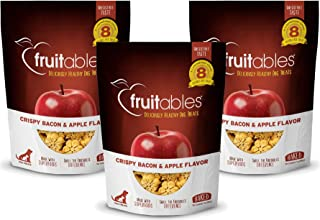product image for Fruitables Apple & Bacon Natural Dog Biscuits