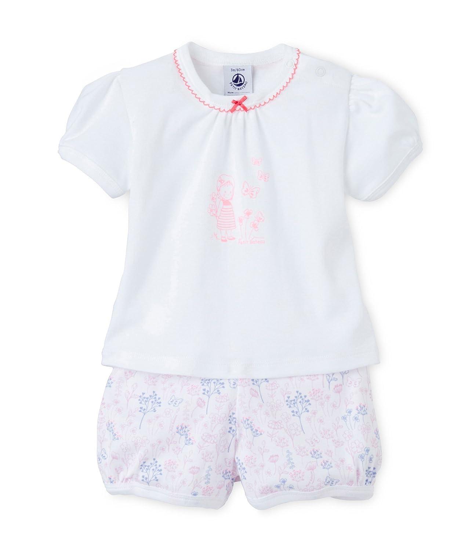 25c4c6a4bf96 Amazon.com  Petit Bateau Baby Girl Summer PJs