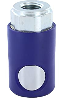 "Prevost USI061202 Push Button Automotive Style Truflate Coupler 3//8/"" NPT PrevoS1"