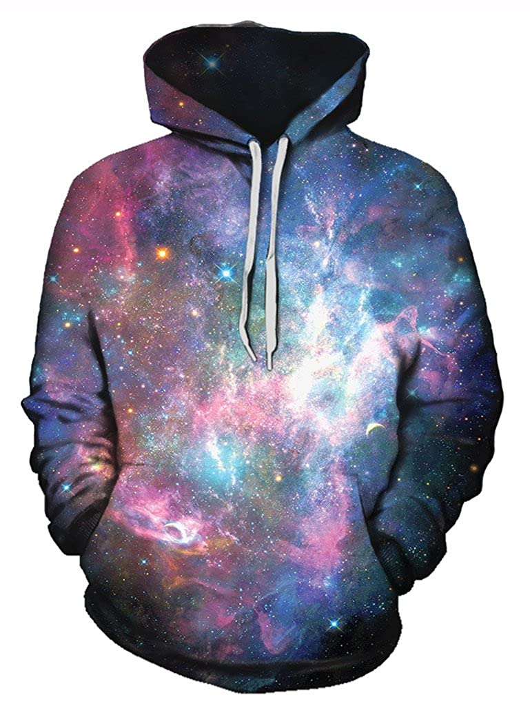 Premium All Over Print Graphics Gratefully Dyed Dazzling Dimensions Hoodie