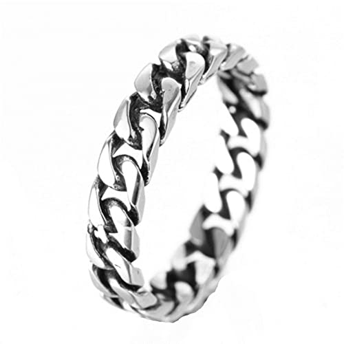 White Curb Meaning >> Beydodo Stainless Steel Rings For Men Celtic Punk Rock