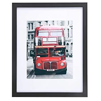 Amazoncom Songmics Picture Frame 11 X 14 With Mat For 8 X 10