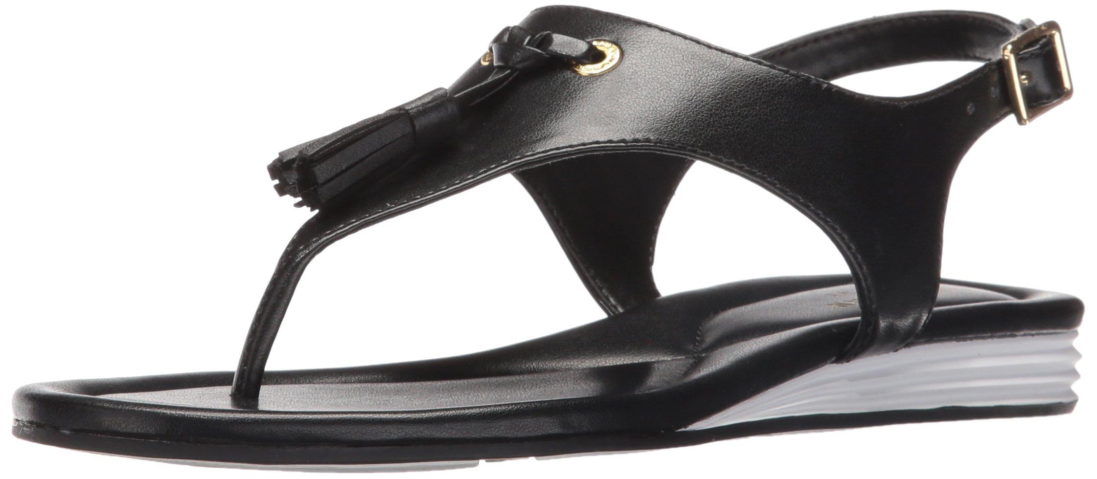 Cole Haan Women's Rona Grand Flat Sandal, Black, 6.5 B US