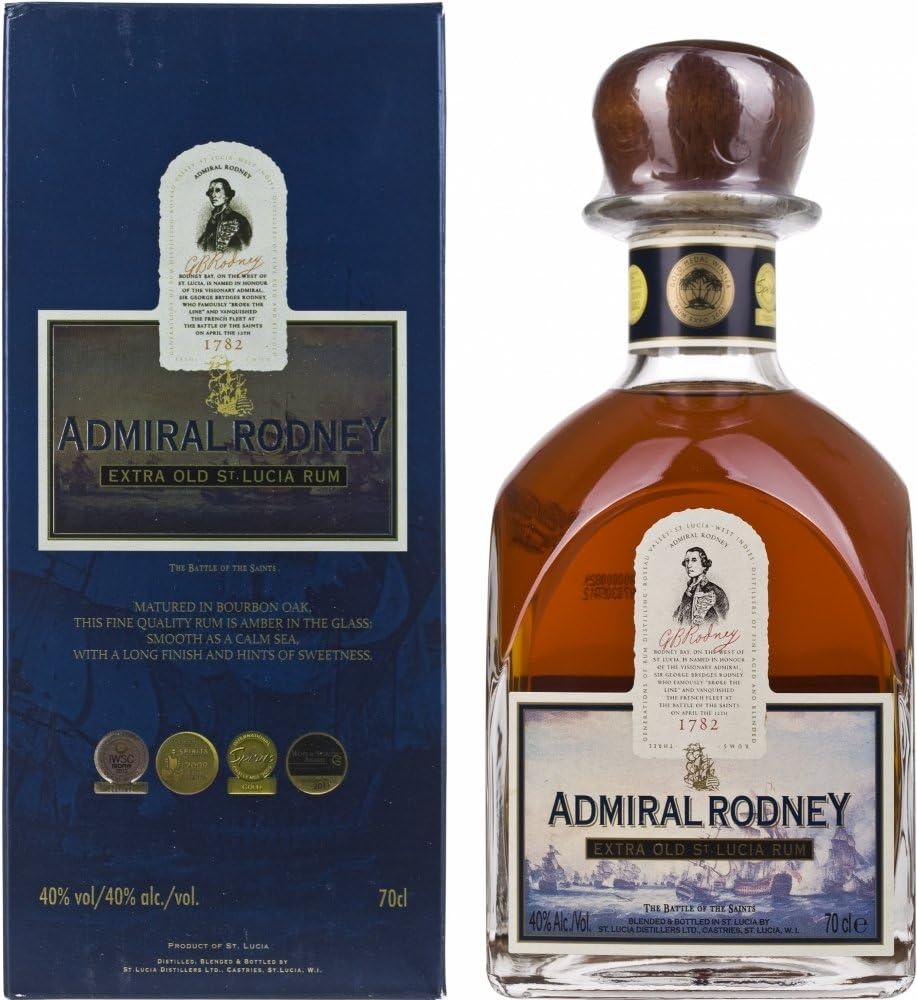 Admiral Rodney mit Geschenkverpackung Rum (1 x 0.7 l ...