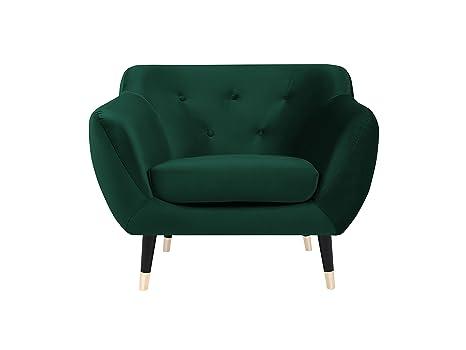 Mazzini Sofas - Silla, Tela, Verde, 102 x 73 x 83 cm: Amazon ...