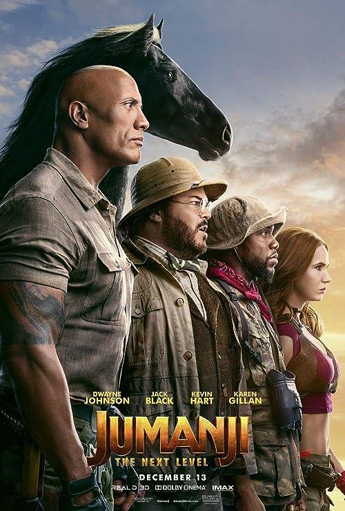 Lionbeen Jumanji The Next Level - Movie Poster - Cartel de ...