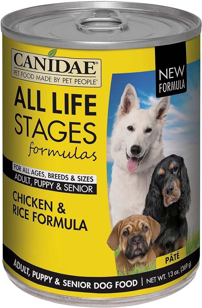 canidae senior dog food