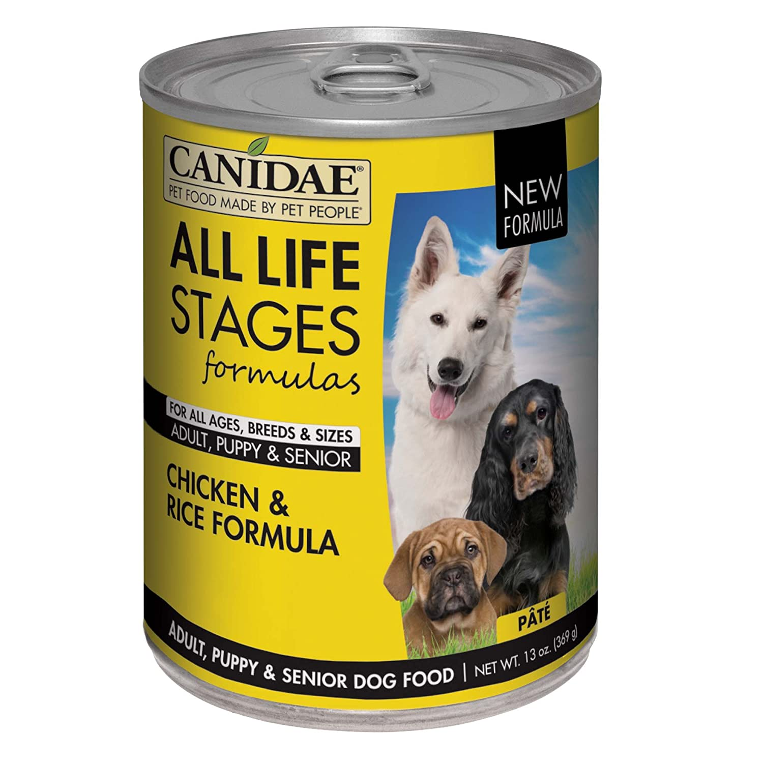 12. CANIDAE All Life Stages Formula Canned Dog Food