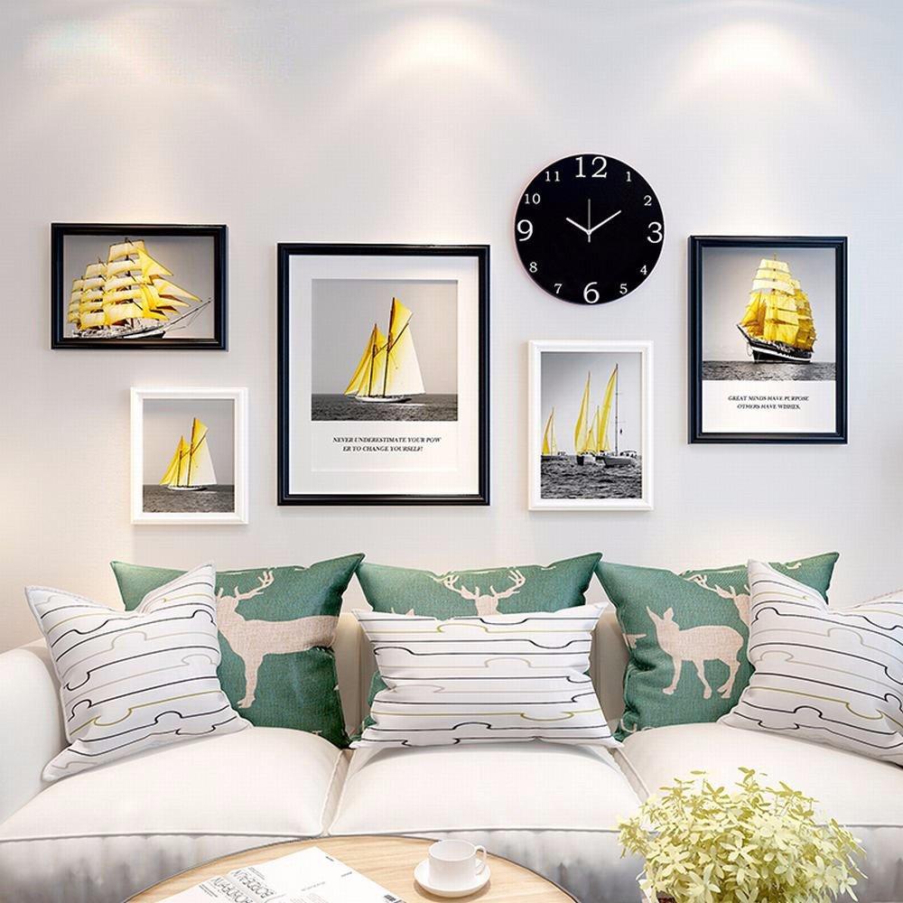 Wuxk das wohnzimmer minimalistischen modernen foto wand dekoration