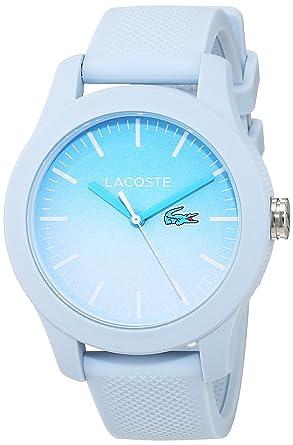 bdf65cdc99 Lacoste Femme Analogique Classique Quartz Montres bracelet avec bracelet en  Silicone - 2000989