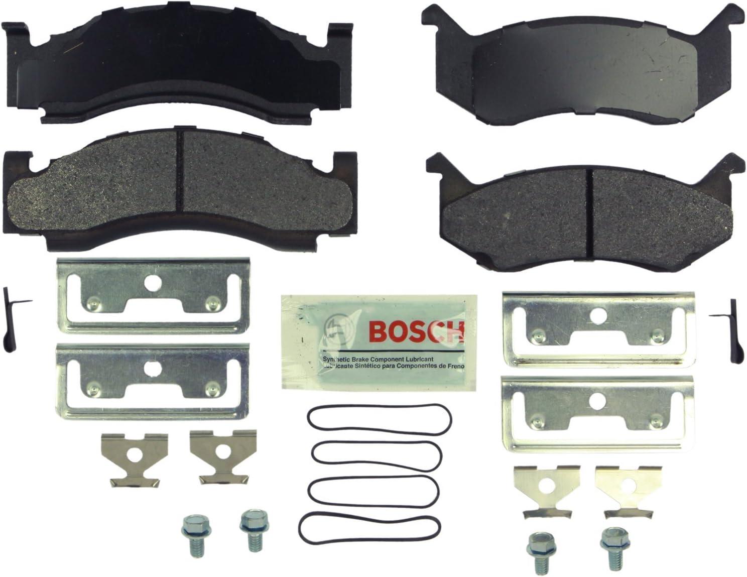 Rear Ceramic Brake Pad Set TEC-666