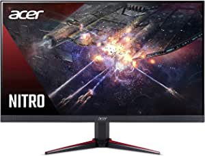 Acer Nitro VG240Y Pbiip 23.8 Inches Full HD (1920 x 1080) IPS Gaming Monitor with AMD Radeon FREESYNC Technology, Zero Frame, 144Hz, 1ms VRB, (2 x HDMI 2.0 Ports & 1 x Display Port), Black