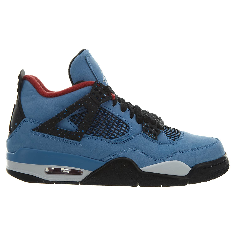 97fb73e20be Amazon.com   Jordan 4 Retro Travis Scott Cactus Jack Style: 308497-406  Size: 13   Basketball