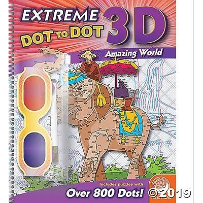 MindWare Extreme Dot to Dot 3D: Amazing World: Toys & Games