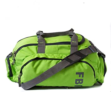 Fbi Polyester Green Softsided Travel Duffle Bag: Amazon.in: Bags ...