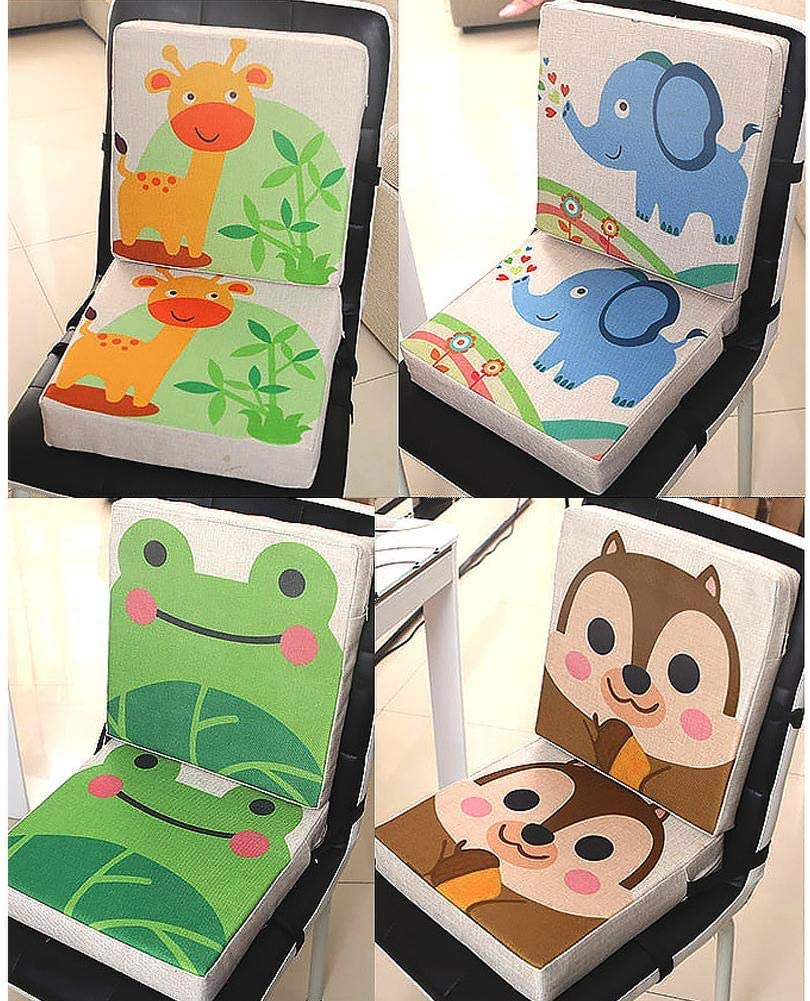 Portable Chair Mat Makeup Bench Piano Seat Height Adjustable Cushion Pads for Children Baby