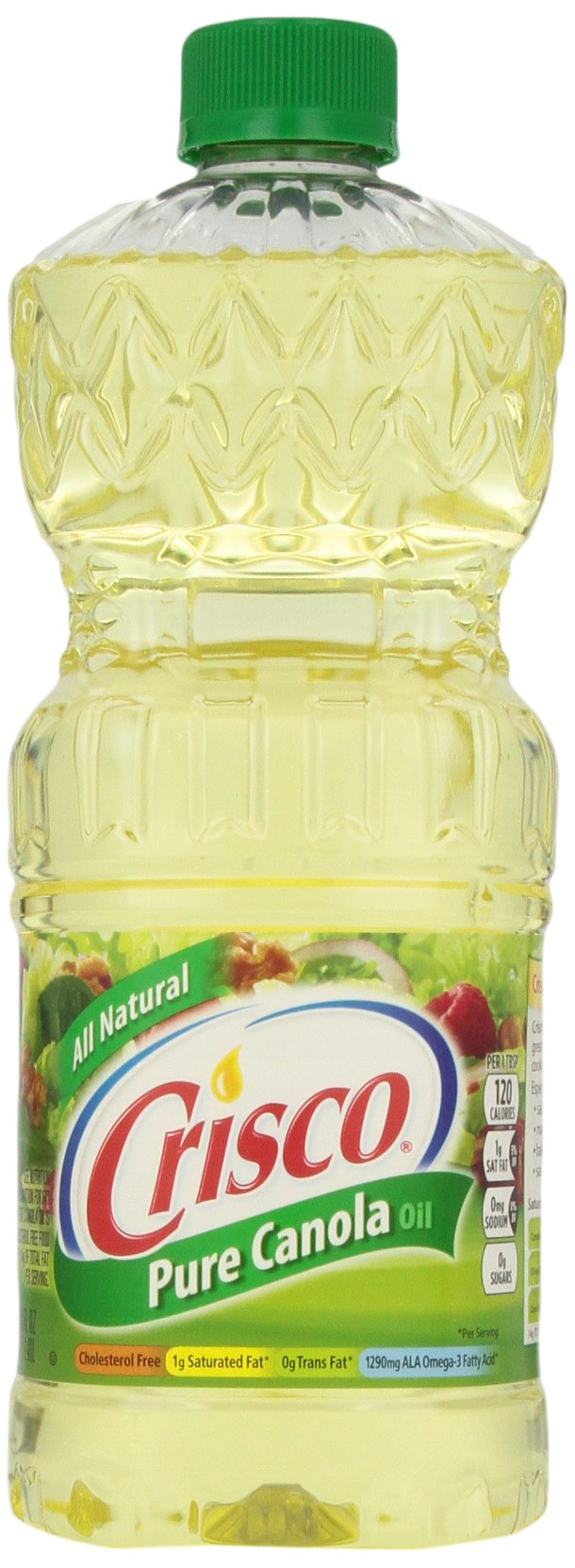 Crisco Pure Canola Oil, 48 Ounce (Pack of 9) by Crisco
