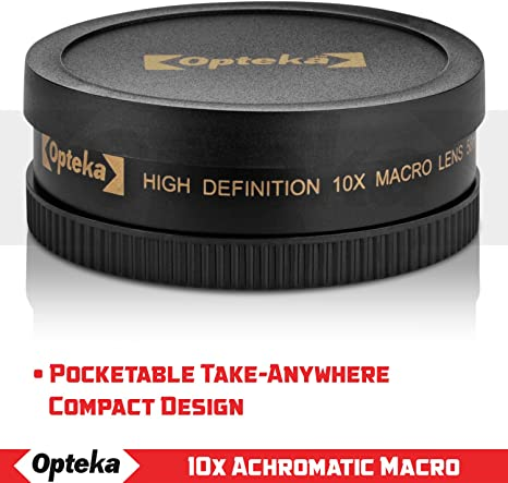 Lens for Pentax K10D 72mm Macro 10x High Definition 2 Element Close-Up