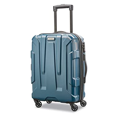 Samsonite Centric Expandable Hardside Carry On Luggage with Spinner Wheels, 20 Inch, Teal