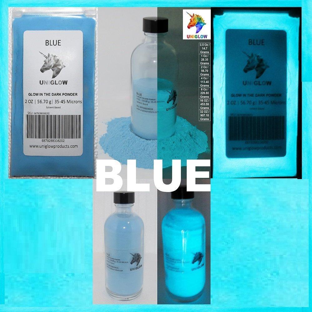 UniGlow 暗闇で輝く蛍光粉末染料  16 Oz / 453.59 Grams ブルー 687928337366 B06XVY4BP7 16 Oz / 453.59 Grams|ブルー ブルー 16 Oz / 453.59 Grams