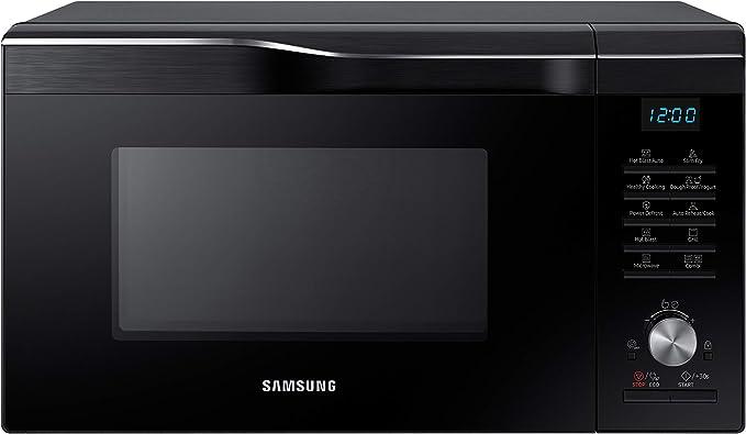 Power Defrost 1000 W Extra gro/ß silber Samsung MS28F303TAS//EG Mikrowelle // 51,2 cm Breite 28 L Garraum 26 Automatikprogramme