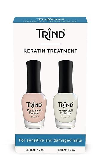 Amazon.com : Trind Keratin Treatment for Nails Kit : Nail ...