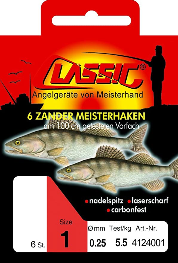 Paladin Classic Karpfen Meisterhaken Gebunden Angelhaken