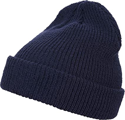 f6ec8890 Amazon.com: Urban Classics Flexfit Long Knit Beanie 1545K: Sports ...