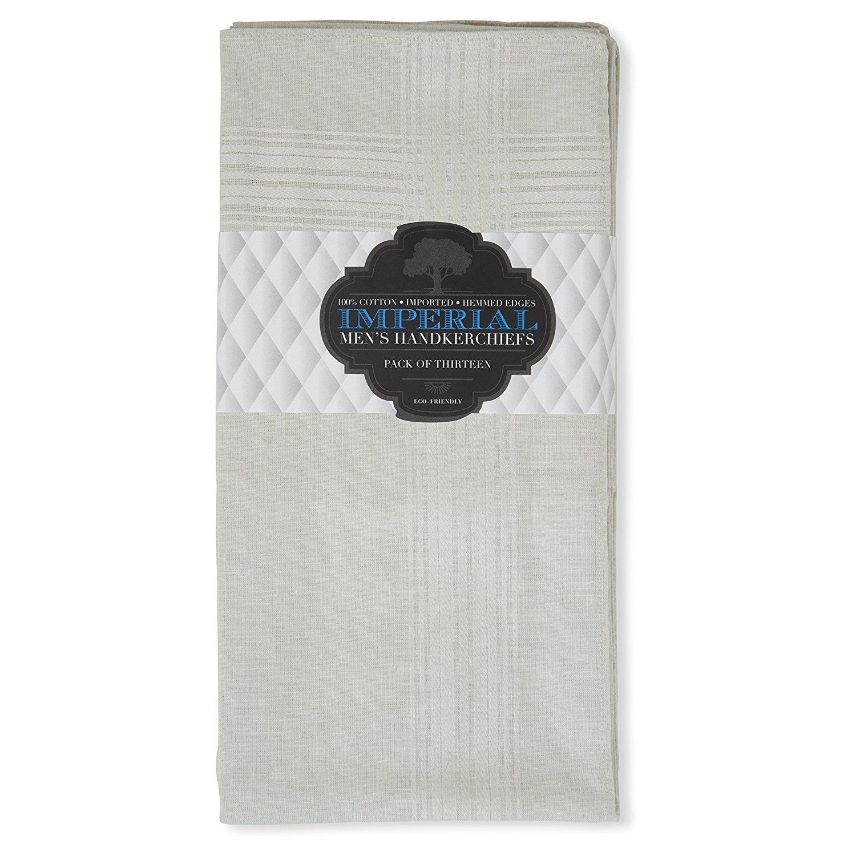 Imperial 13 Pack Men's Fine Handkerchiefs 00_XJKZXDLC_02