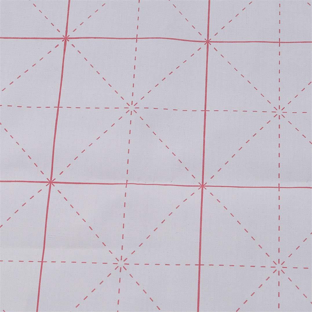 Underleaf Gridded magisches Wasser-Schreibstoff-chinesische Kalligraphie-Praxis-Oxford-Stoff-Wasser-Schreibstoff