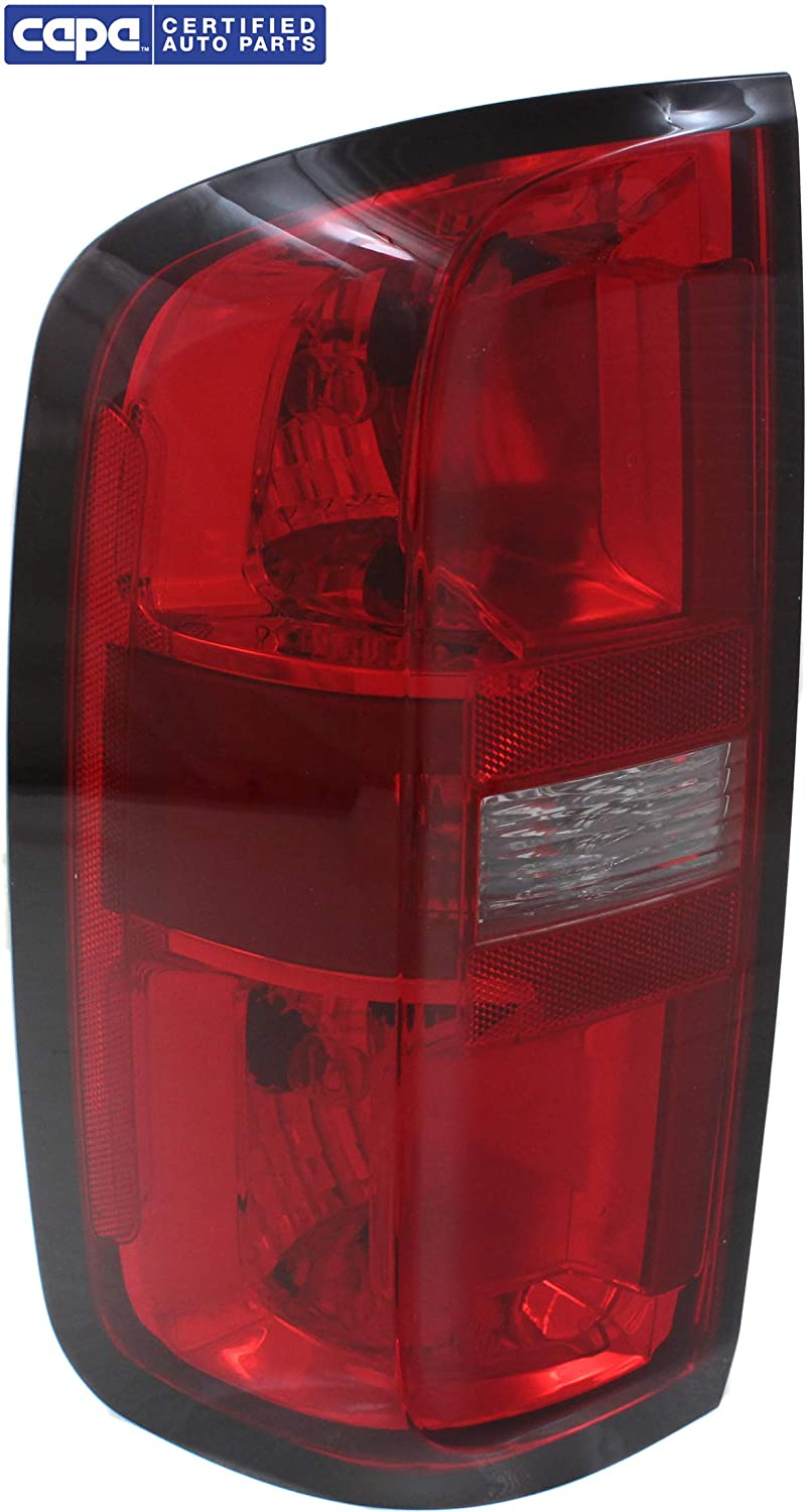 CAPA Tail Light Compatible with CHEVROLET COLORADO 2015-2017 LH Assembly