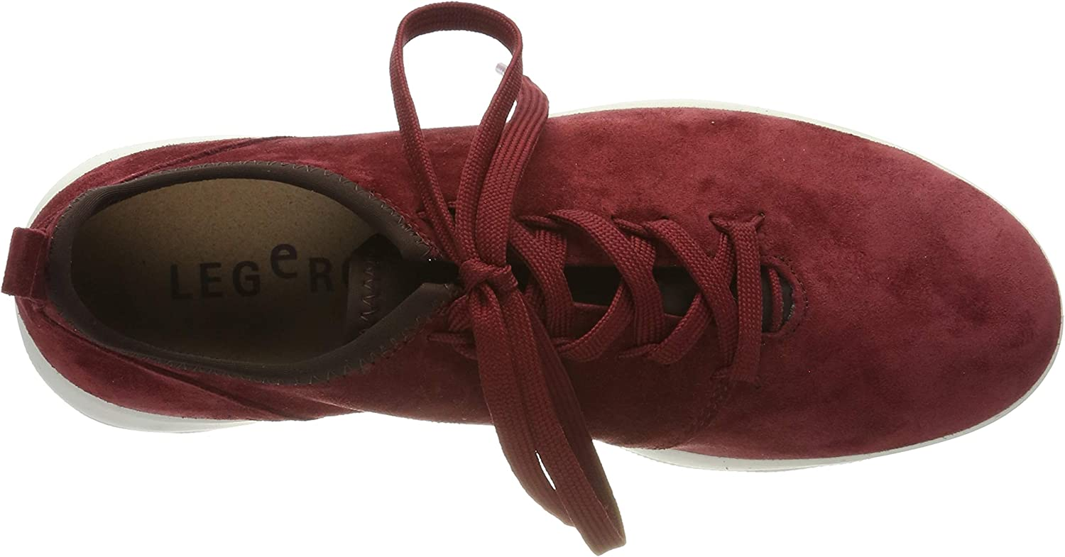 Legero Women's Low-Top Sneakers Red (Rio Red (Rot) 49)