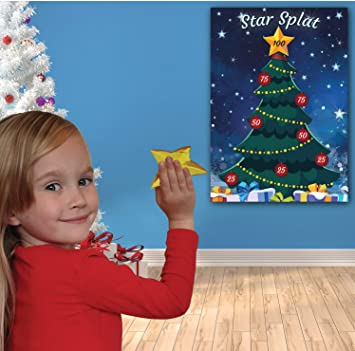 Buy Uk Party Games Christmas Family Game A Star Splat A Family Kids Children Office Xmas Game Online At Low Prices In India Amazon In